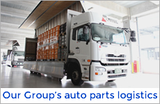 Our Group's auto parts logistics